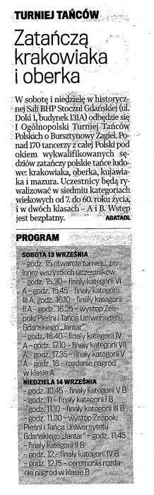 Gazeta Wyborcza, 13-14.09.2014r.